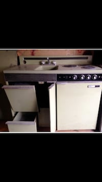 Complete kitchen tiny living - stove oven sink ice box cabinets /  price $800.00 awesome deal combination Terre Haute, 47805