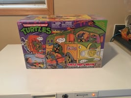 Brand new never opened TMNT party wagon RARE