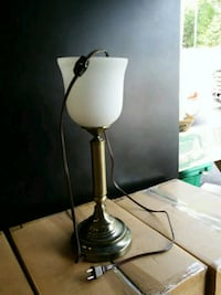 black and white table lamp Foresthill, 95631
