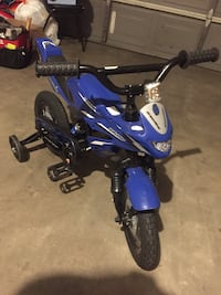 blue and black Yamaha ATV Amarillo, 79121