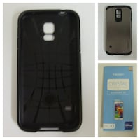 Galaxy S5 Case & 2 New Screen Protectors  531 km