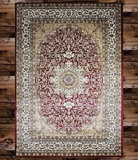 Turkish rug size 8x11 nice red carpet Persian style rugs and carpets Burke, 22015