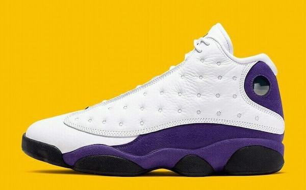 the latest 46f42 e10e6 Purple Jordan 13s