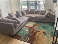 3 piece sectional and area rug Annapolis Junction, 20701