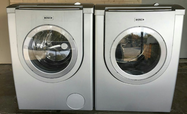 Bosch Net 500 Series Washer Dryer Set Runs Great