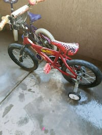 toddler's red and black bicycle Tucson, 85715