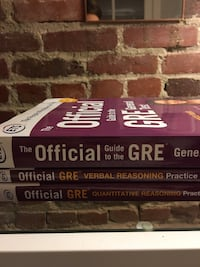The Official Guide to the GRE  (Powerpack) Washington, 20010