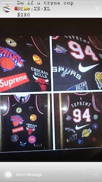 Supreme basketball jersey