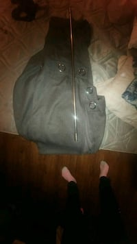 gray and black leather tote bag Sault Ste. Marie, P6A 6M9
