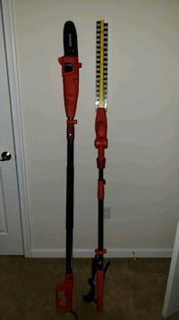 Sunjoe telescoping Chainsaw and Hedge clippers Palmyra, 17078