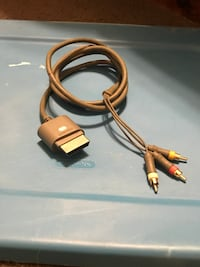 Xbox 360 Component Video Cable