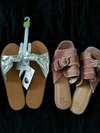 Size 7.5 two pair of  sandals Vancouver, 98663