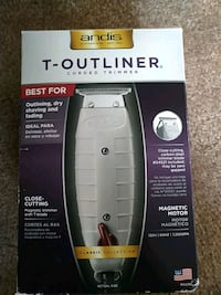 Andis T-Outliner Trimmer with blade setter