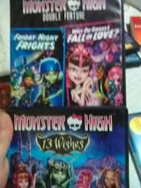 Monster high movies both
