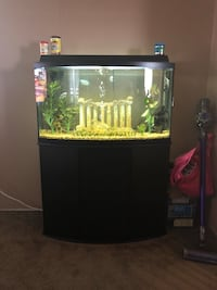 46 gallon bow front aquarium Hanover, 21076