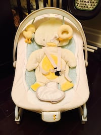 Baby's duck rocker/bouncer - barely used