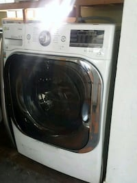 NEW !! LG STEAM JUMBO SIZE FRONT LOAD WASHER  Redlands