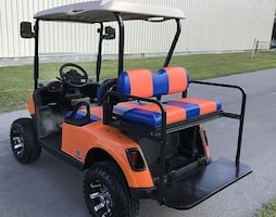 @~@(E~ZGO+Electric)♔AMAZING♔ LOOKS For SAle New16**Golf Cart~@