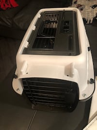 white and black pet carrier 536 km