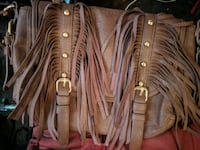 Frindge purse brown leather Clinton, 37716