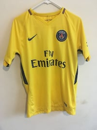 Yellow and black nike galatasaray jersey shirt