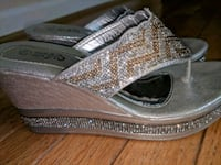 pair of brown leather flats Fairfax, 22033