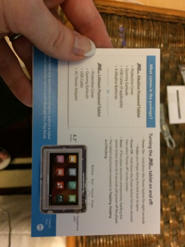 New Jpay Collectable Prison Tablet