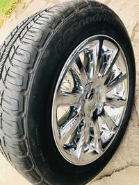 4 BRAND NEW 18 INCHES WHEELS & TIRES  2018 EDITION FOR CHRYSLER  [PHONE NUMBER HIDDEN]  BF GOODRICH) 5X4.5 Omaha, 68104