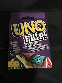 New UNO flip cards.