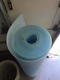 """Pool liner Padding 40' roll 48"""" high Great River, 11739"""
