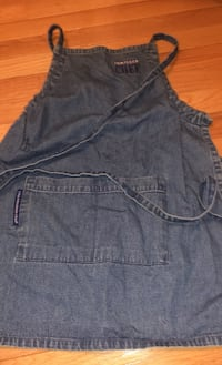 Adorable small child's Pampered Chef Denim Apron!