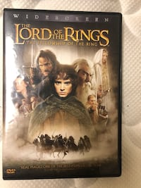 Lord of the Rings: Fellowship of the Ring DVD Ashburn, 20147