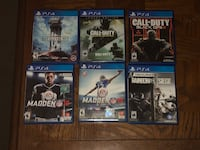 Ps4 games 10-20$  Palmdale, 93550