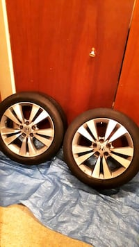 "4 17"" Honda Accord Rims And Tiers 5x114.3"