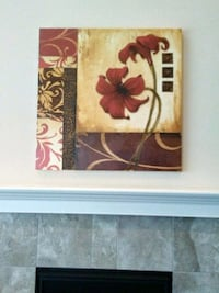 red and white flowers painting Windsor, 80550