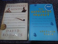 two Passionate Minds and The Happiness Project books Toronto, M5T 2H9