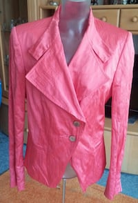 Damen Jacke Kurzblazer Gr. 40 in Pastel Orange von Tuzzi NW Elsfleth