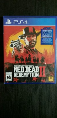 PS4 RDR3 BRAND NEW NEVER OPEN Toronto, M5S 0C5