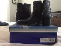 pair of black leather boots Daly City, 94014