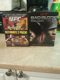 Mint Condition.  UFC Videos. Barrie, L4N 2N4