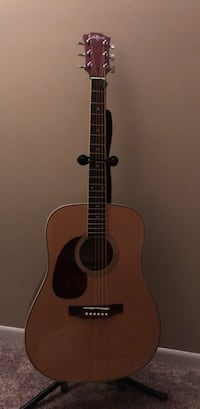Left handed brown and black  acoustic guitar Columbus, 43065