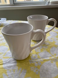 Correlle stoneware cups like new ,each $2 Vancouver, V6G 2G1