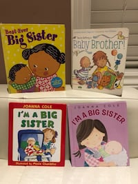 Big Sister and Baby Brother Books Markham