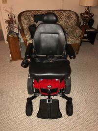 black and red motorized wheelchair San Marcos, 92078