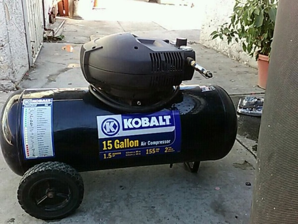 Kobalt 15 Gallon Air compressor 1.5 running hp