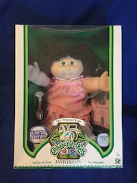 Cabbage patch kid 25th anniversary Candyce Rose Reeseville, 53579