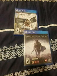 two Sony PS4 game cases Winnipeg, R3B 2H4
