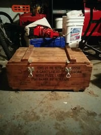 Vintage ammo crate for 84MM ATK ammo Hamilton, L8G 3H5