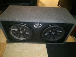 12 inch kickers in ported box