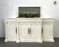 Vintage Ornate Sideboard Pickering